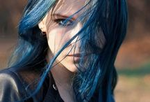 PEOPLE • Female • Blue Hair