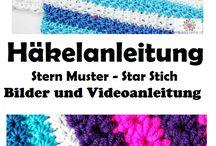 Häkel Muster und Stiche Deutsch