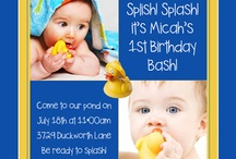 Baby birthday party / by Mary McLemore