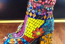 Mosaic shoes & inspiration