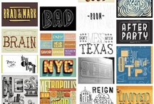 Typography / by Adrianne Adelle