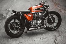 Honda CB750 / Project cafe racer inspiration