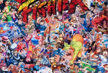jeux arcade street fighter SNES