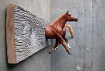 paarden slaapkamer