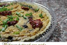 QUICHES / Salty or sweet