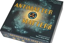 "Antimatter Matters / Elbowfish's first game was hailed by critics:  ""The perfect recipe for a fun-filled, nerdy evening."" - Physics Central ""Was made for people like me."" - Giant Freakin Robot ""It's like CERN the board game!"" - Ain't It Cool News ""Unique theme, fantastic components,  a good balance of entertainment and education"" – GeekDad  This board is where we like to share images and links related to the world of this game. Feel free to contribute by pinning content to your own boards with #antimatter"