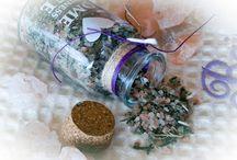 Ottimi sali da bagno Aromatici per infusione, tutto con erbe aromatiche italiane e bio.