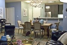 ReCreate the Room: Assorted Apartment / We love the look of this eclectic apartment! Here is how we ReCreate it with Sheely's Furniture and Appliance items!