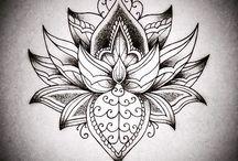 Татуировки Эскизы Мандала