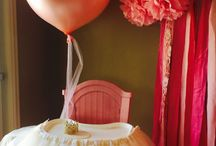"Ava's 1st Birthday Party ""She leaves a little sparkle wherever she goes!"" / by Jami Roberts"