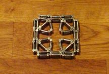 Magnetic toy (squares)