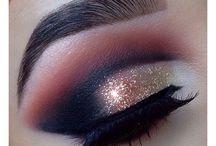 Makeup / Hollywood makeup / cut crease