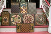 Primitive Gameboards / by Early American Home