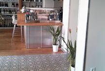 Restaurants - Marrakesh Cement Tile / Marrakesh cement tiles used in public places