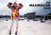 Festival Fashion / Fashion Magazine based on the people of festivals