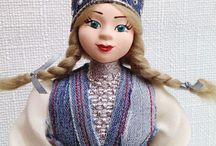 Кукла снегурочка - подарок на новый год