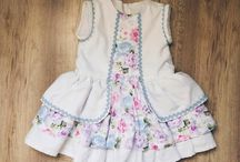 Ropa Lali reguero / Handmade clothes for little girls and boys