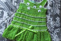Crocheted Dresses by My Grandma for SALE / my lovely grandma made many, many dresses for years. Now I offer her a chance to tell other people about her works. She was happy. I can show examples of her baby dresses so that you can get an idea of what they look like. She loves to crochet. Support her works please if you can. If you are interested, let us know about size, colors and prices. we also do blankets, shoes and hats. contact me --- alcyone7s at hotmail dot com