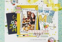 Cocoa Daisy April 2017: Real Life / We carefully curate Scrapbooking, Day in the Life (Project Life or pocket scrapbooking), Day Planner (organizers, filofax, kikki k, midori traveler's notebook, planner) kits every month.  Exclusive stamps, washi tape, paper clips, puffy stickers, and more!