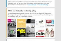 Awesome email newsletters
