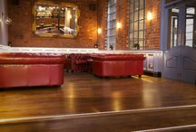 The Terrace Bar Leicester / These are some of the bespoke projects that Ledridge Lighting have completed.