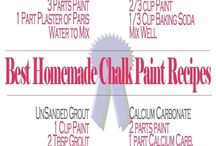 CHALK PAINT RECIPES