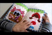 textil könyv készítés