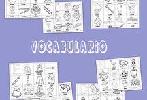 Recursos educativos para infantil: Abecedario con vocabulario