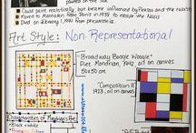 Art: Piet Mondrian / Activities based around the work and life of Piet Mondrian