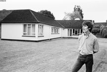 George Harrison at his home in Esher, July 1964