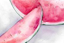 Fruta e.   Cibo o altri cose