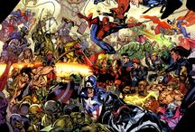 Comics and Superheros / by Graeme Pepper
