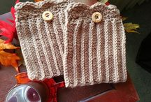 Crochet Patterns Boot cuffs
