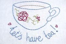Broderi / Emboidery and stitching