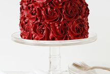 Red Cakes / All about the colour red and cakes that go with it