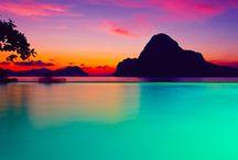• SUNSETS •
