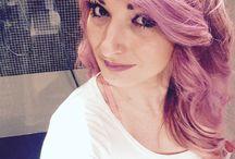 Pink hair crasy fashion / Hair so cute pink
