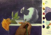Pintar al oleo.net / Cursos de dibujo y pintura en videos online