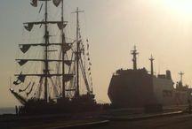 Ship and sea