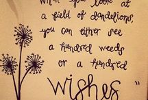 wishes, likes & desires . . . / i forever search out a dandelion to make a wish upon...  / by Connie