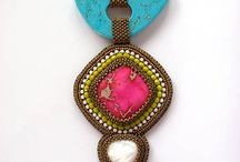 Beading & Bead embroidery combination