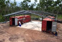 off grid container housing