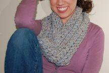 шарфы снуды шали