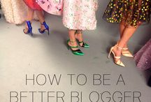 better blogger / Tips and Tricks on how to be a better blogger.