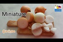 miniatury jídlo