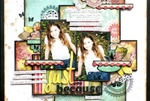 Scrapbook Layouts for Two