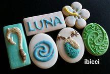 Moana cookies/cake