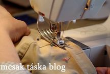 sewing / How to hem jeans by replacing jean a ma jig, with a fork...