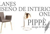 Diseño de interiores PIPPÈ / Diseño de interiores clasificado por secciones según los estilos