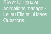 mariage animation